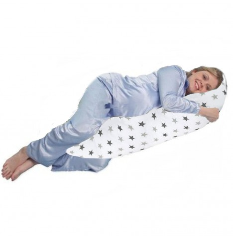 4baby Body & Baby Support Pillow - Silver Twinkle..