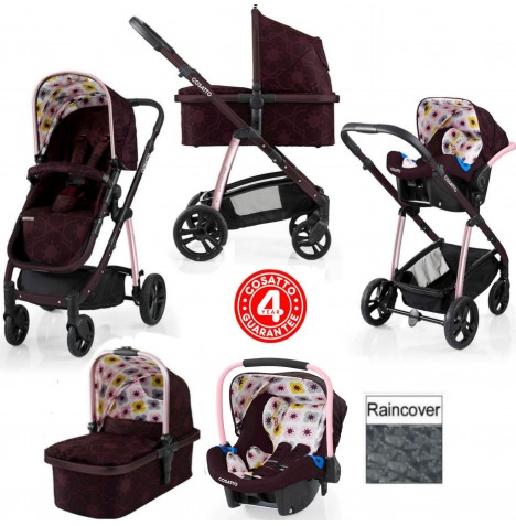 Cosatto Wow 3 in 1 Combi Travel System - Posy