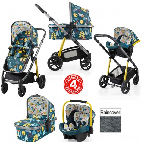 Cosatto Wow 3 in 1 Combi Travel System - Fox Tale