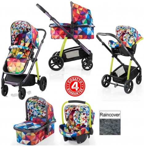 Cosatto Wow 3 in 1 Combi Travel System - Spectroluxe