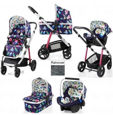 Cosatto Wow 3 in 1 Combi Travel System - Eden