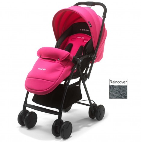 Mee-Go Feather Pushchair Stroller - Pink