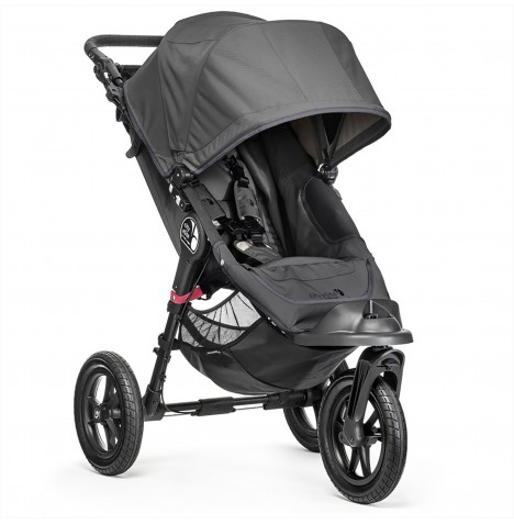 New Baby Jogger City Elite Single Stroller - Titanium