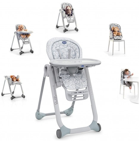 Chicco Polly Progres5 3 in 1 Highchair - Sage