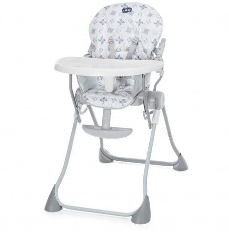 Chicco Pocket Meal Highchair - Light Grey