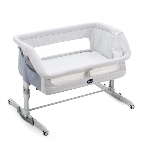 Chicco Next 2 Me Dream Side Sleeping Crib - Delicacy Grey