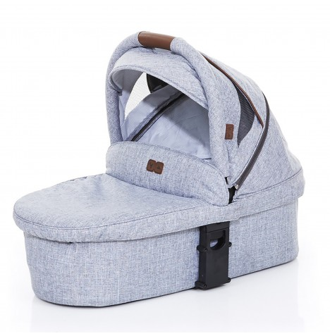 ABC Design Zoom / Salsa Style Carrycot - Graphite Grey