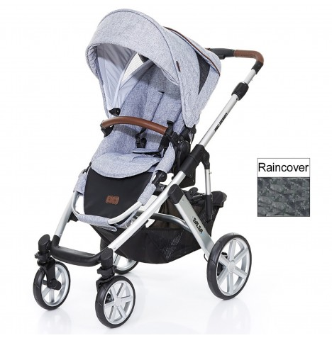 ABC Design Salsa 4 Pushchair - Graphite Grey