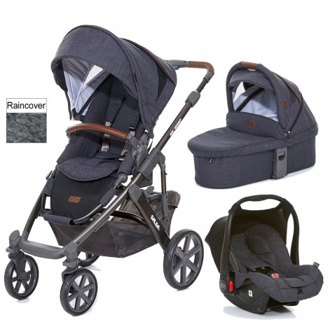 ABC Design Salsa 4 Travel System & Carrycot - Street