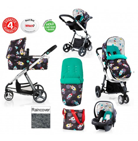 Cosatto Giggle 2 Combi 3 in 1 Travel System - Space Racer..