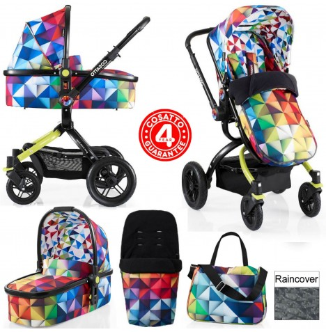 Cosatto Ooba 3 in 1 Combi Pram / Pushchair - Spectroluxe