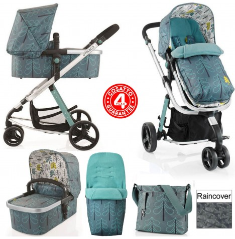 Cosatto Giggle 2 Combi 3 in 1 Pushchair - Fjord