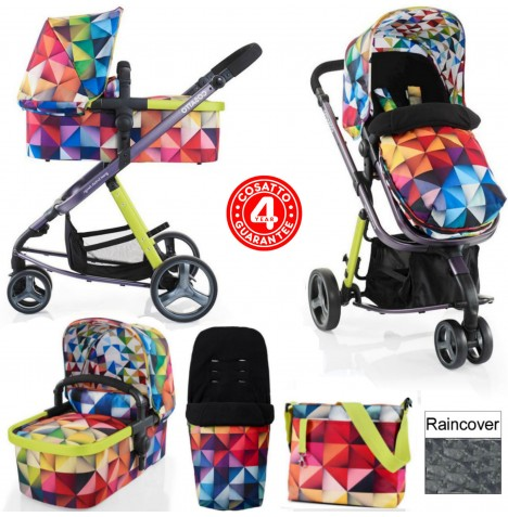Cosatto Giggle 2 Combi 3 in 1 Pushchair - Spectroluxe