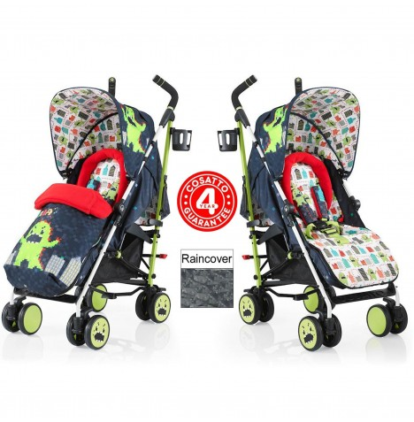 Cosatto Supa Pushchair Stroller - Monster Arcade