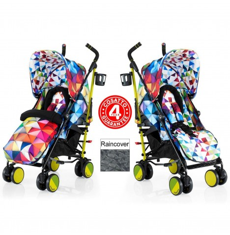 Cosatto Supa Pushchair Stroller - Spectroluxe