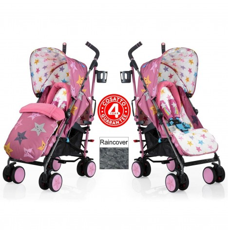 Cosatto Supa Pushchair Stroller - Happy Stars