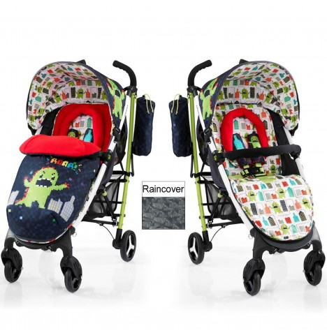 Cosatto Yo 2 Pushchair Stroller - Monster Arcade