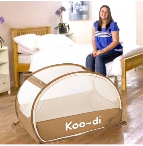 new childs samsonite pop up bubble baby travel cot ebay. Black Bedroom Furniture Sets. Home Design Ideas
