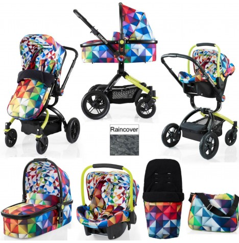 Cosatto Ooba 3 in 1 Combi Travel System - Spectroluxe