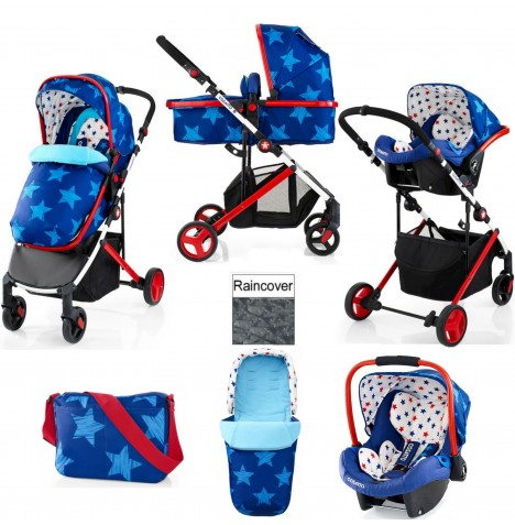 Cosatto Wish 2 in 1 Travel System - Starbright
