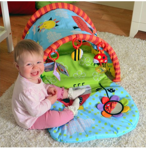 Red Kite Play Tunnel / Activity Gym - Garden Gang