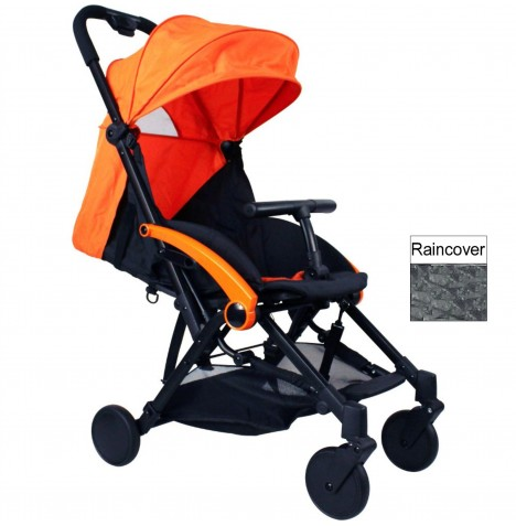 Red Kite Push Me Cube Pushchair Stroller - Tango