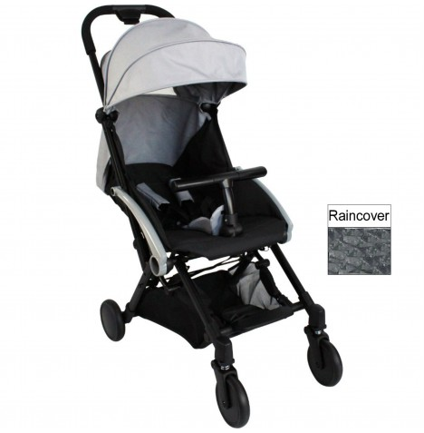 Red Kite Push Me Cube Pushchair Stroller - Steel Grey
