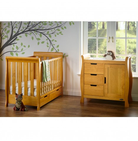 Obaby Stamford Mini 2 Piece Room Set - Country Pine