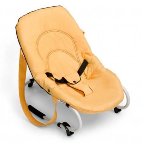 Hauck Rocky Baby Bouncer Chair - Banana