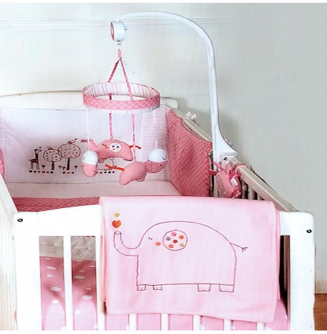 Red Kite Hello Ernest Musical Mobile - Pink