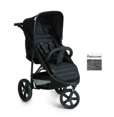 Hauck Rapid 3 Stroller / Pushchair - Caviar / Black