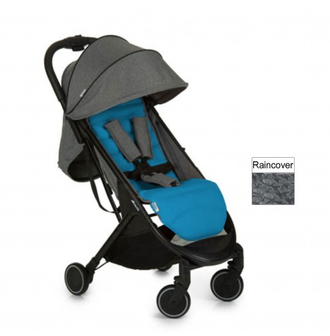Hauck Swift Pushchair / Stroller - Melange Grey / Azure