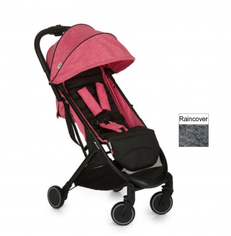 Hauck Swift Pushchair / Stroller - Melange Rose / Caviar