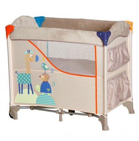 Hauck Sleep n Care Travel Cot / Baby Nest - Animals