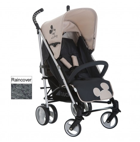 Hauck Disney Classic Mickey Mouse Charcoal Pushchair Baby
