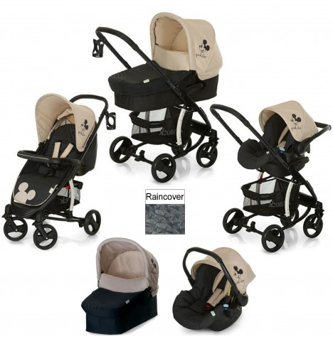 Hauck Disney Miami 4 S Trio Set Travel System - Classic Mickey