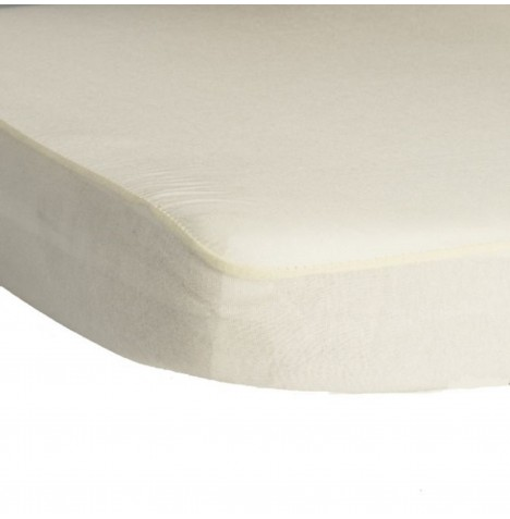 Hippychick Childs Waterproof Cot Mattress Protector (Fitted Tencel Sheet) 120 x 60cm - White