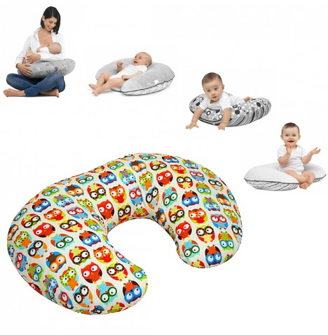 4Baby 4 in 1 Nursing / Pregnancy Pillow / Cushion - Funky Owl..