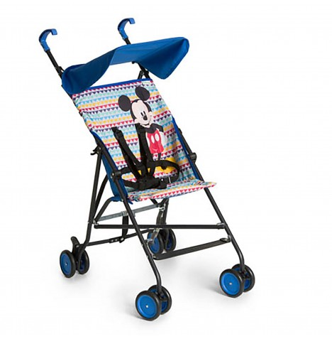 Hauck Disney Sun Plus Buggy Pushchair - Mickey Geo Blue