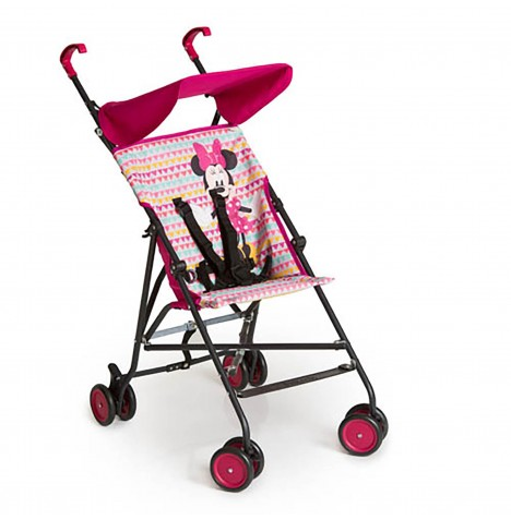 Hauck Disney Sun Plus Buggy Pushchair - Minnie Geo Pink