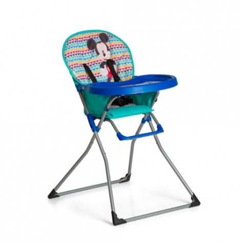 Hauck Disney Mac Baby Highchair - Mickey Geo Blue