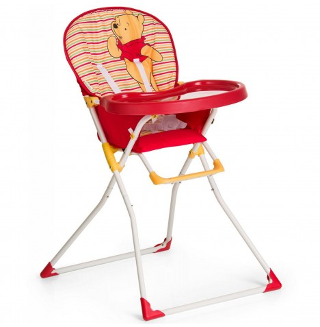 Hauck Disney Mac Baby Highchair - Pooh Spring Brights Red
