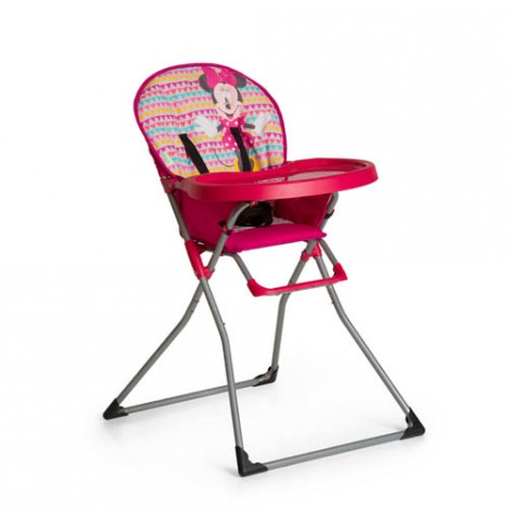 Hauck Disney Mac Baby Highchair - Minnie Geo Pink