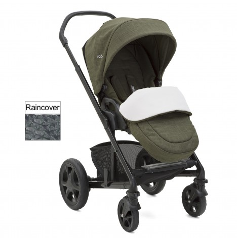 Joie Chrome DLX Pushchair (inc Footmuff) - Thyme