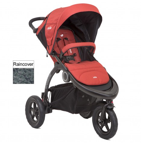 Joie Crosster 3 Wheeler Pushchair Stroller - Rust