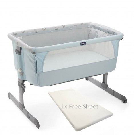 Chicco Next 2 Me Side Sleeping Crib - Sky