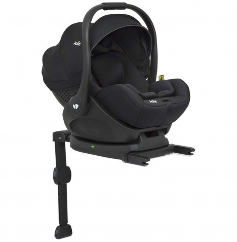 Joie i-Level (i-Size) 0+ Car Seat & Isofix Base - Coal