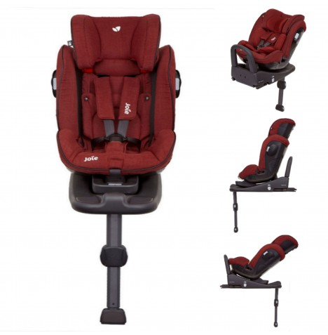 Joie Stages Isofix Group 0+,1,2 Car Seat - Cranberry