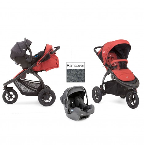 Joie Crosster 3 Wheeler (i-Gemm) Travel System - Rust
