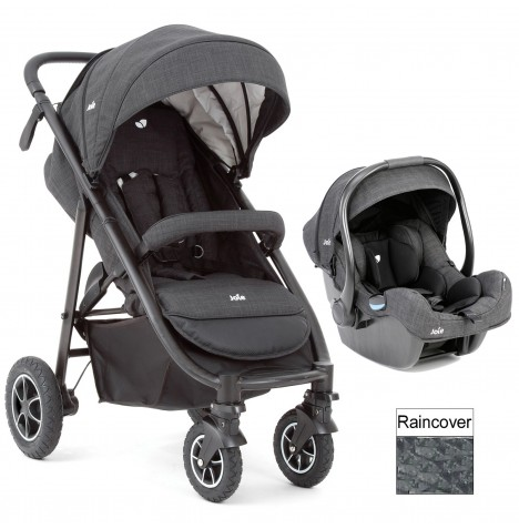joie pavement grey mytrax travel system pushchair stroller. Black Bedroom Furniture Sets. Home Design Ideas